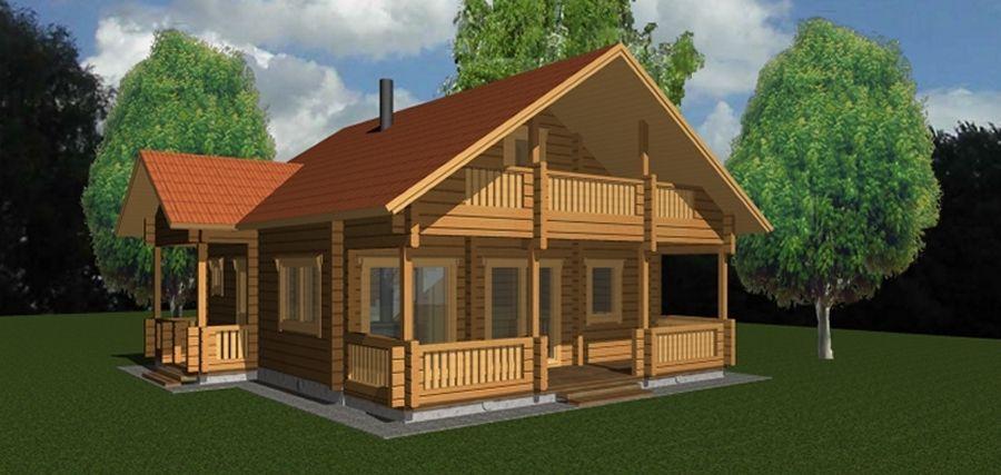 Plan De Maison En Bois Gratuit Faire Construire Sa Maison 15